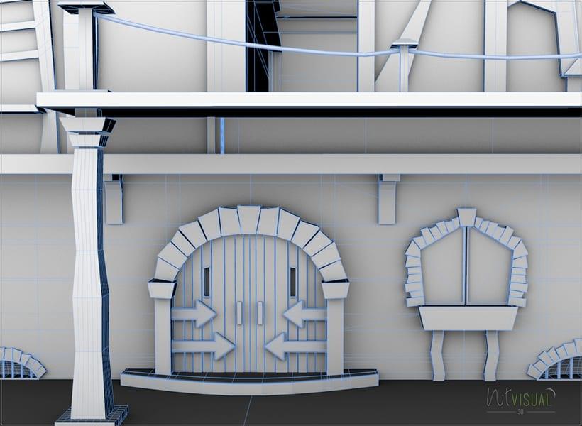 Casa. Entorno 3D 3