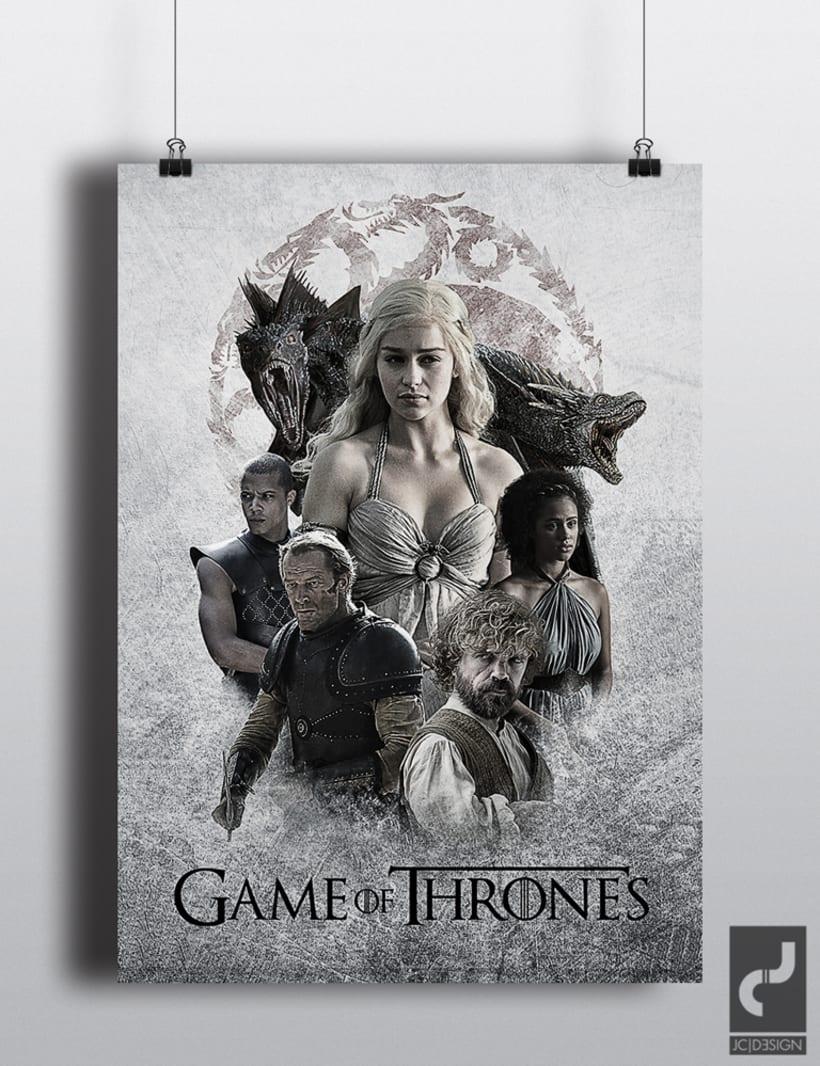 Carteles Juego de Tronos 5ª Temporada 4