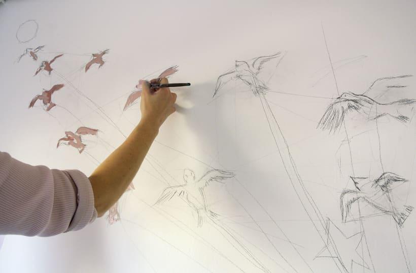Mural Le Petit Prince 0