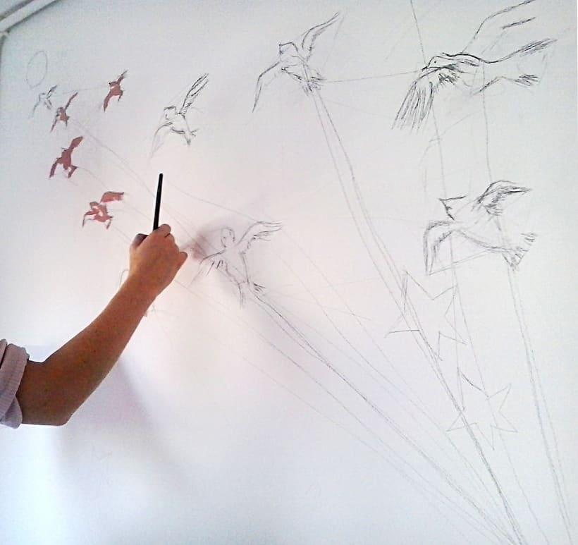 Mural Le Petit Prince 1