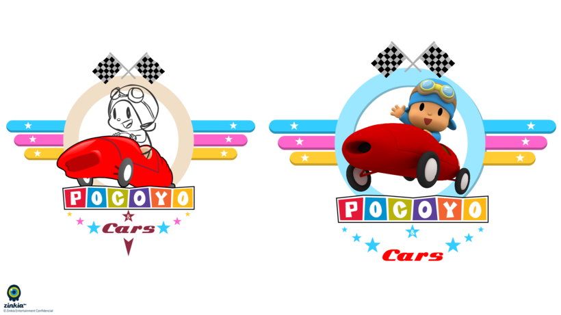 Especial Pocoyo And Cars (Making off) 8