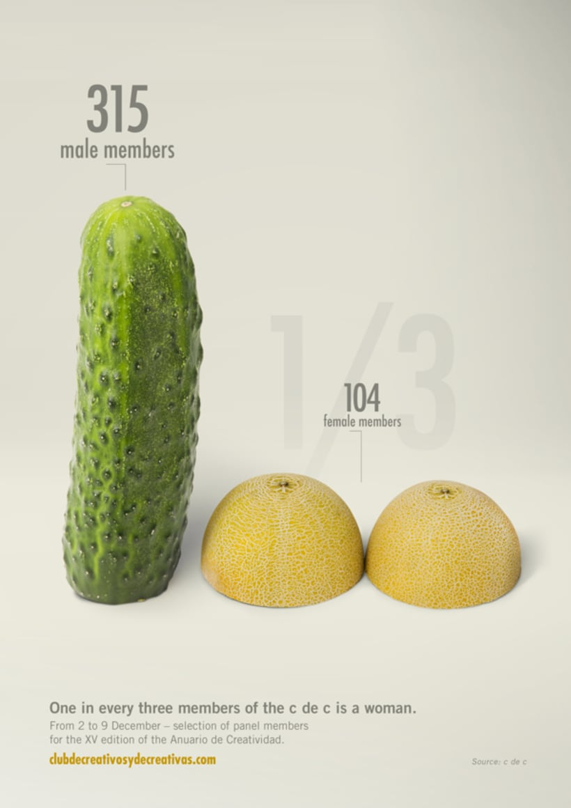 Club de Creativos y de Creativas. Cucumbers and Melons. 7