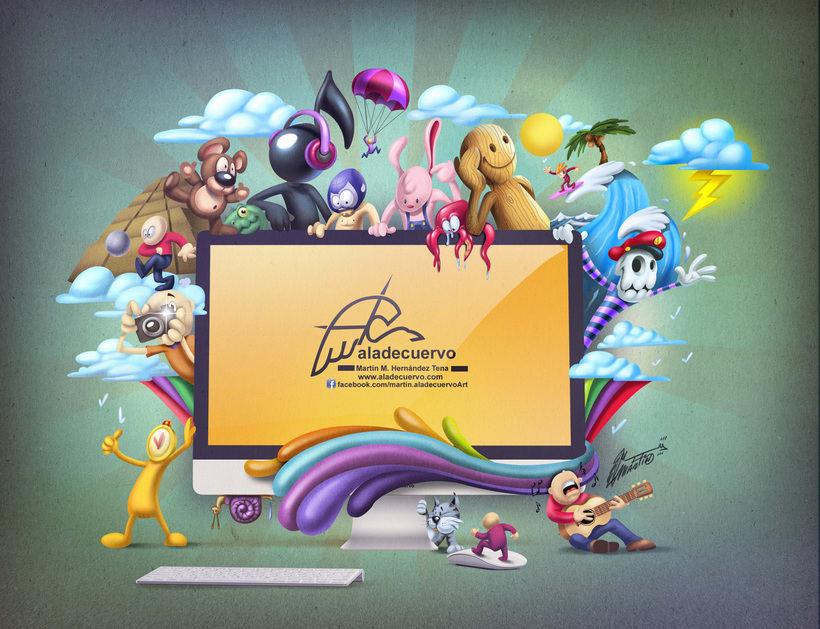 Mi Proyecto del curso Ilustración exprés con Illustrator y Photoshop 0