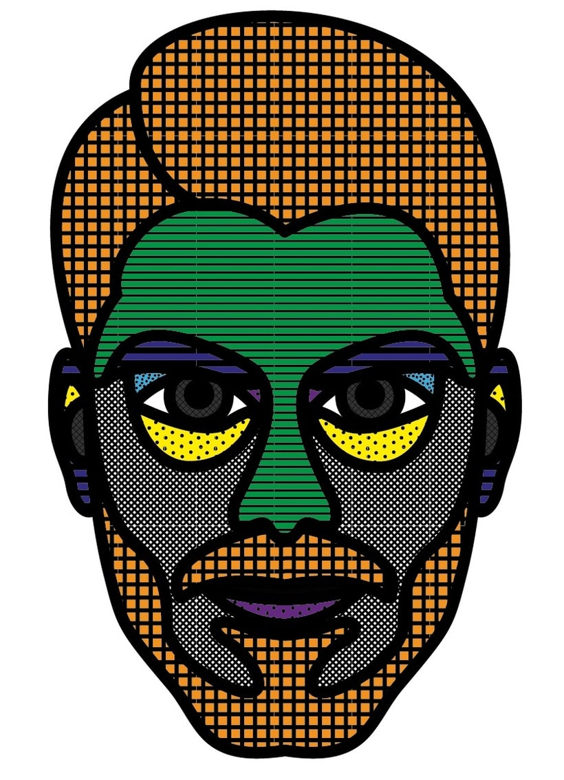 Autoretratos con illustrator 2