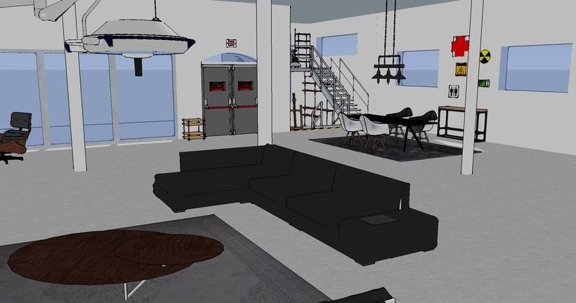 """Hospital reconvertido en vivienda tipo """"loft"""" 0"""