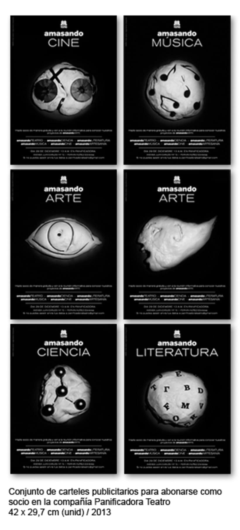 Cartelería 2013 Panificadora Teatro 0