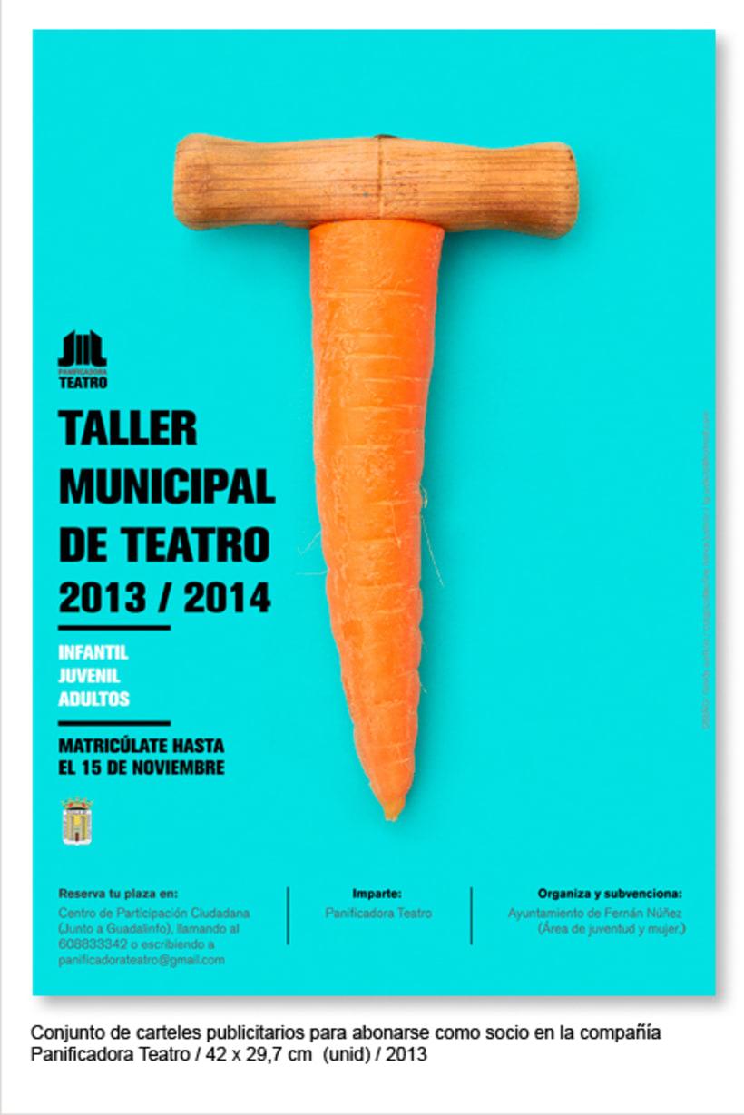 Cartelería 2013 Panificadora Teatro 2
