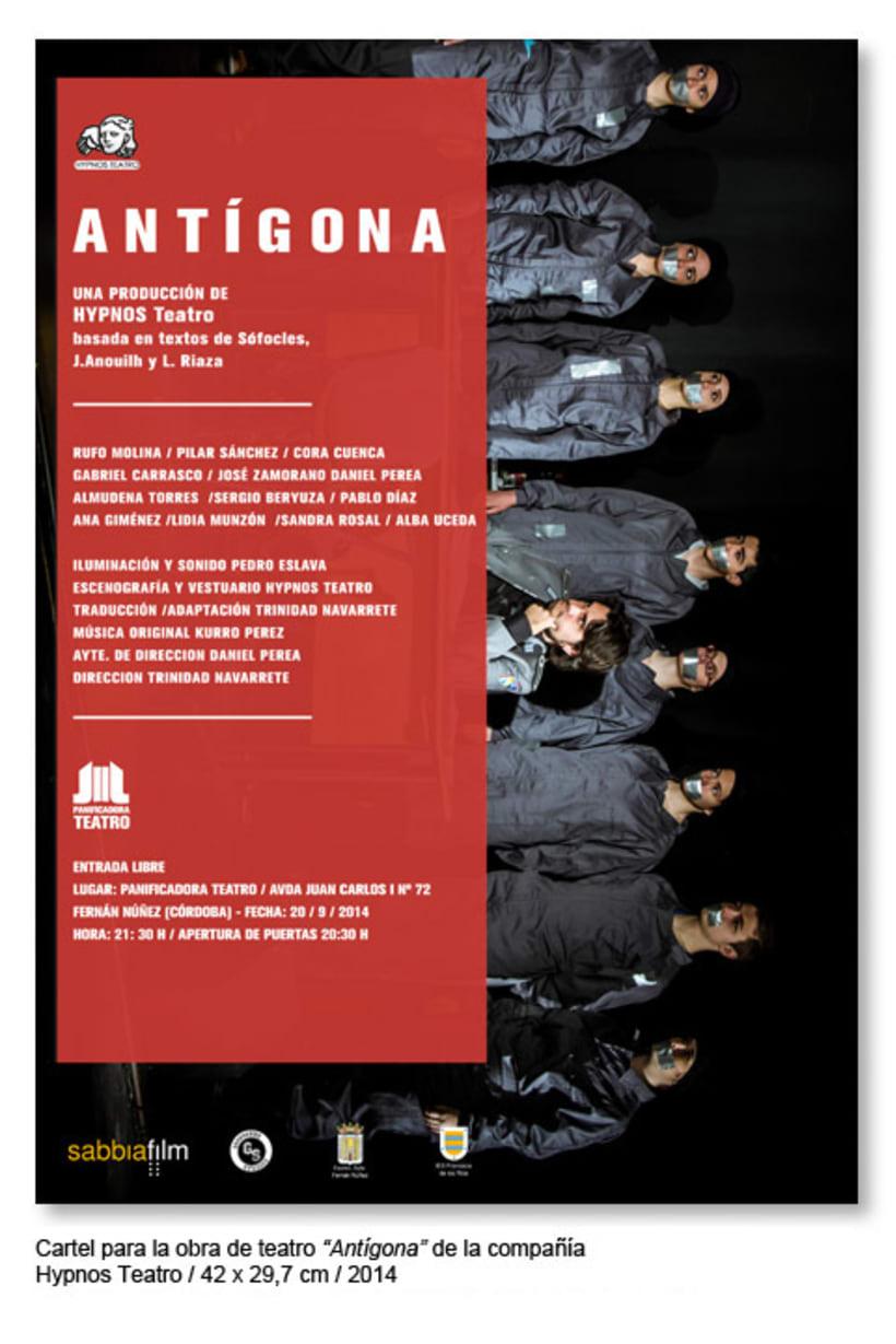 Cartelería 2014 Panificadora Teatro 0