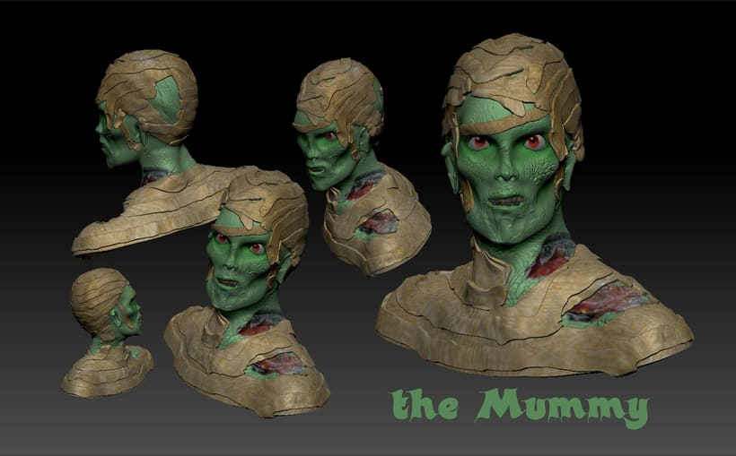 Mi Proyecto del curso Modelado de personajes en 3D 0