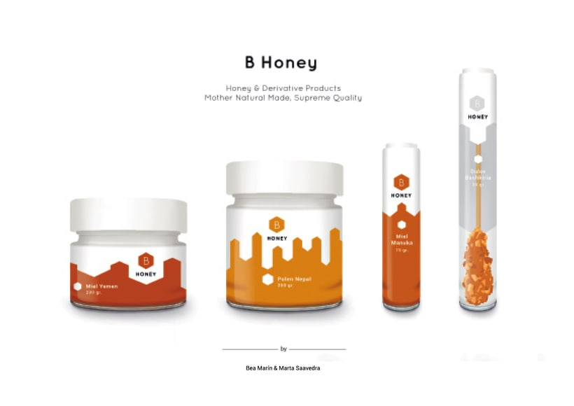 B Honey, packaging de mieles y sus derivados 1