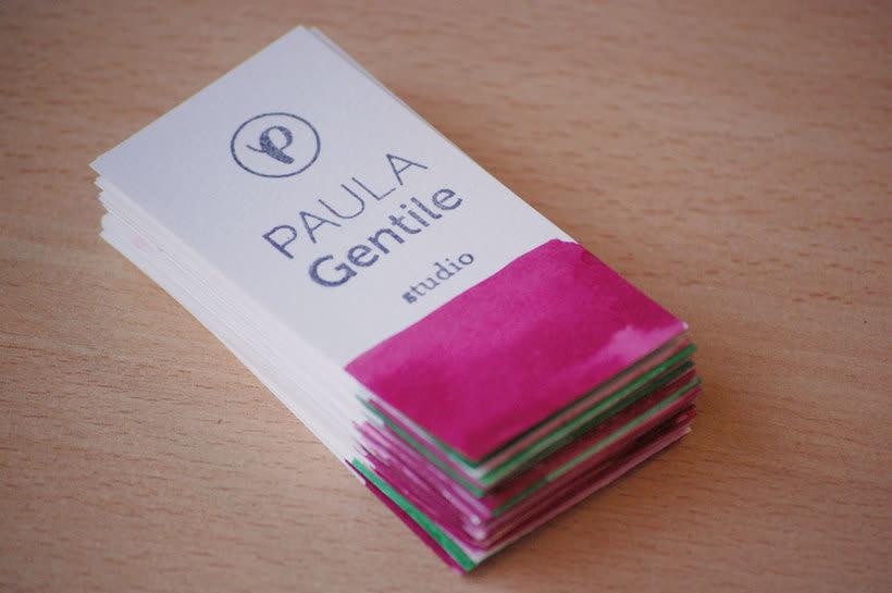 Identidad Visual PAULA Gentile | studio 2