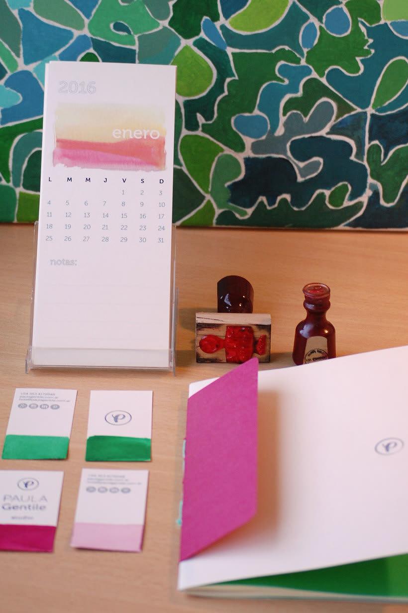 Identidad Visual PAULA Gentile | studio 11