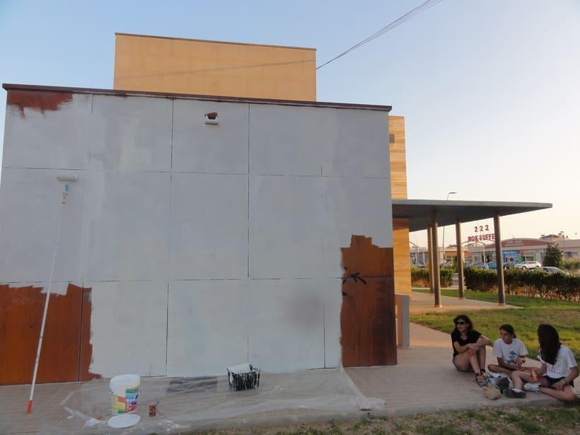 Mural RAMONES Murcia (Los Alcázares ) 1