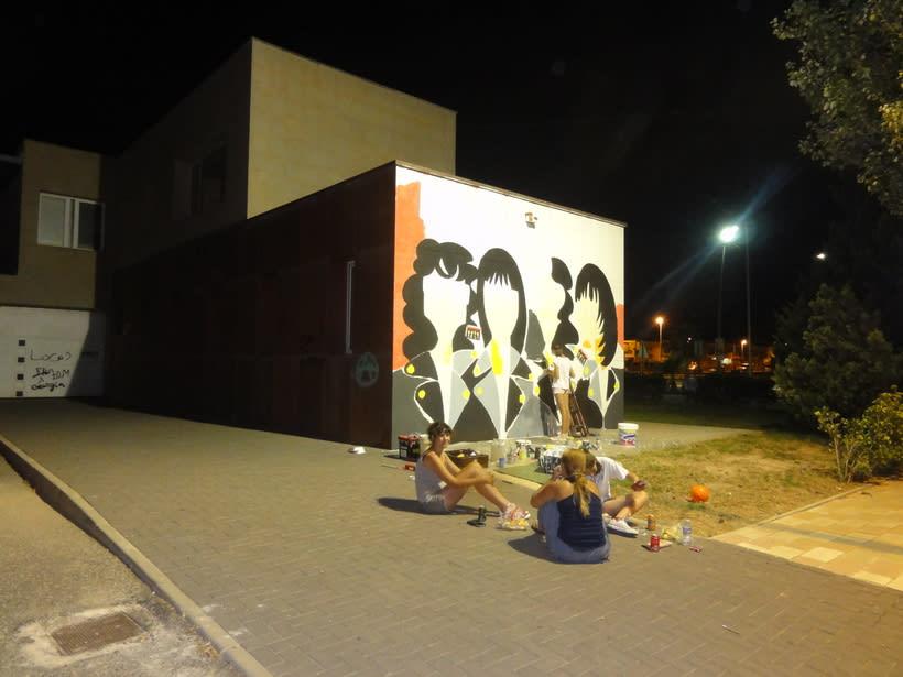 Mural RAMONES Murcia (Los Alcázares ) 2