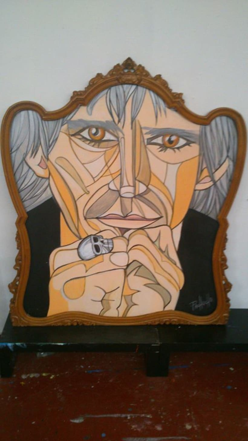 KEITH RICHARDS by PACHUCHO MADRID -1