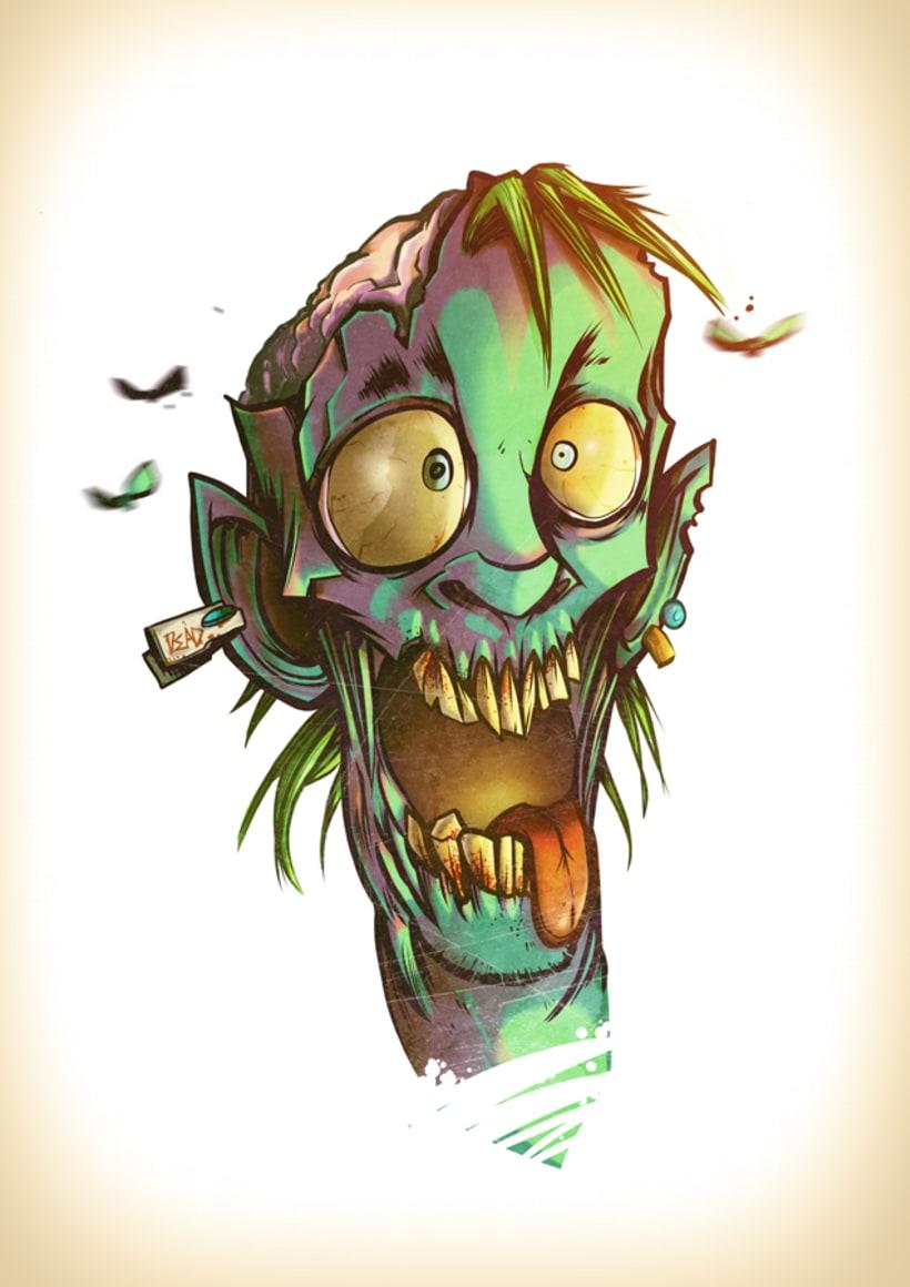 Zombie Punk!  3