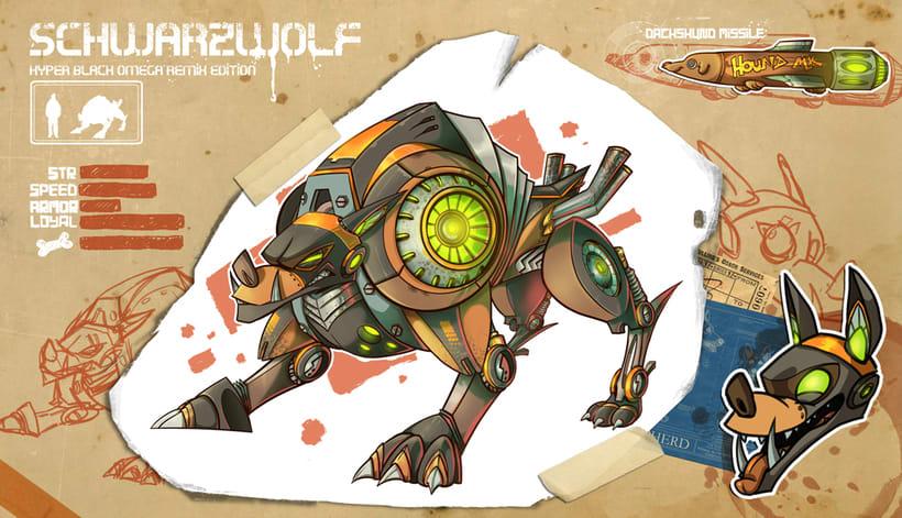 Tier Robot - Concept Art 4