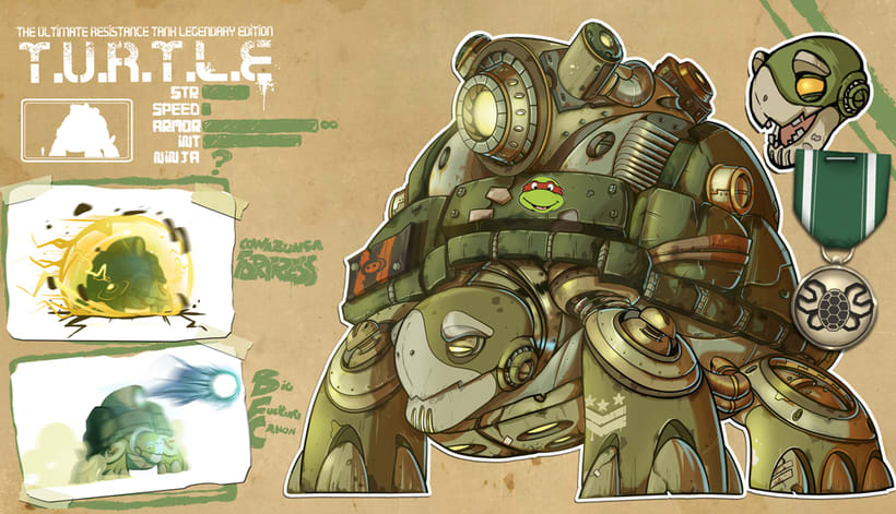 Tier Robot - Concept Art 5