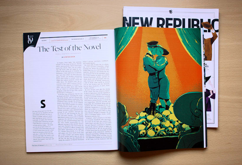 The New Republic magazine - 100 aniversario 0