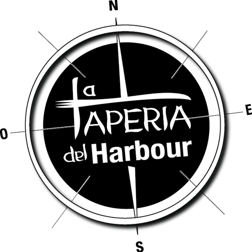 Isologotipo - La Tapería del Harbour 1