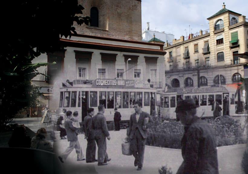 Retrofotografía de Sevilla 1