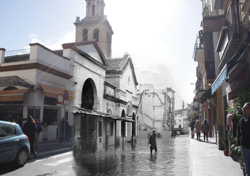 Retrofotografía de Sevilla 2