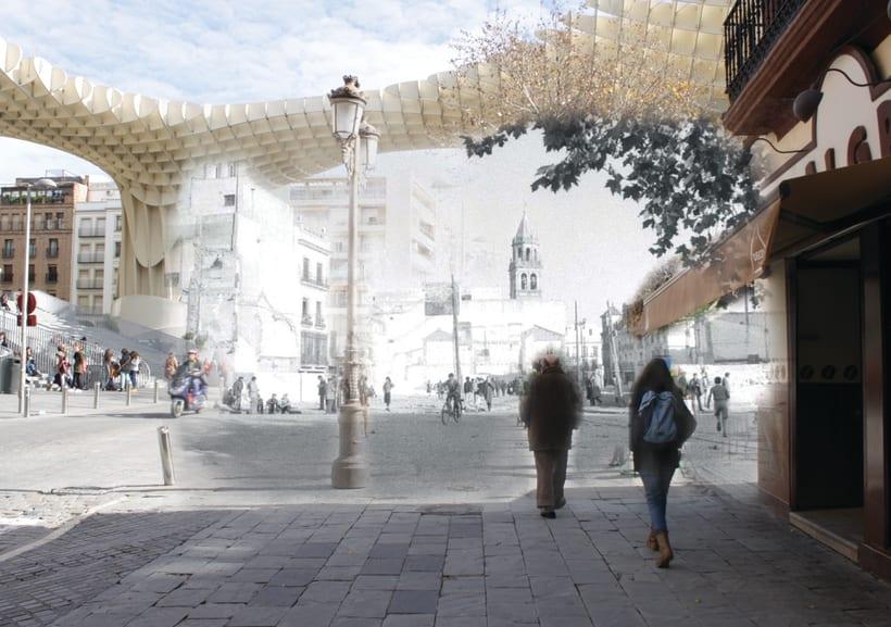Retrofotografía de Sevilla 3
