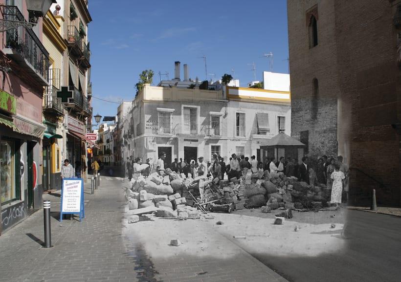 Retrofotografía de Sevilla 5