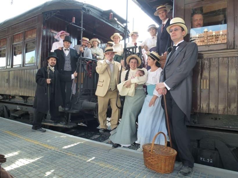 Tren de la Fresa con el Museo del Ferrocarril de Madrid   4