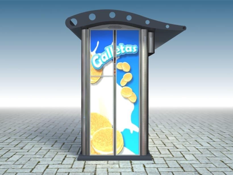 Kiosco Publicitario 1