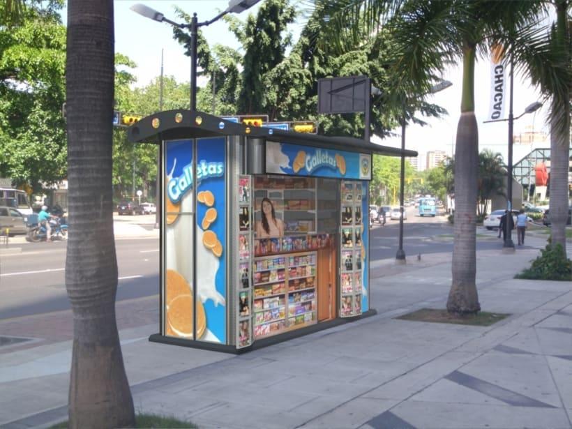 Kiosco Publicitario 3