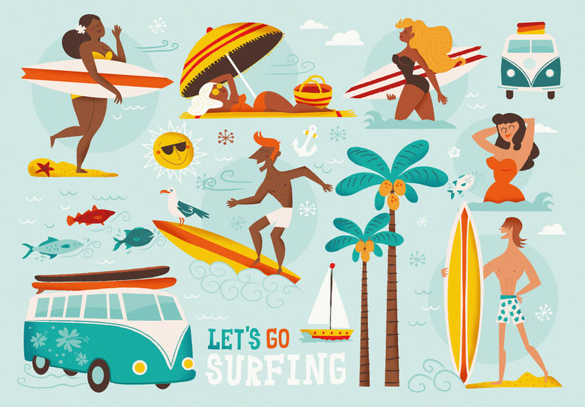 Let´s go surfing 0