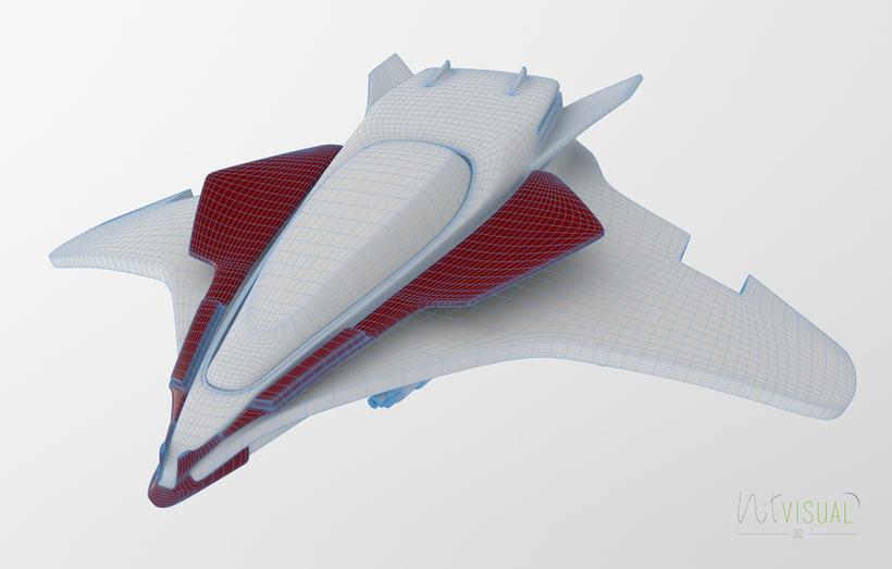 Spaceship 3D 1