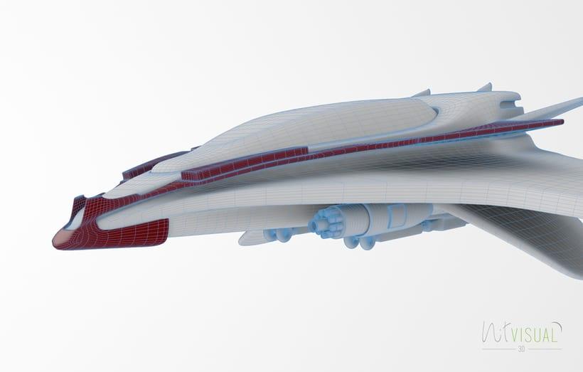 Spaceship 3D 2