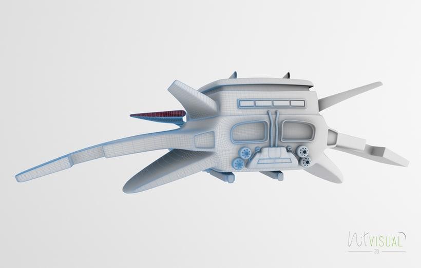 Spaceship 3D 3