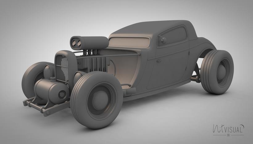 Hot Rod 3D 2