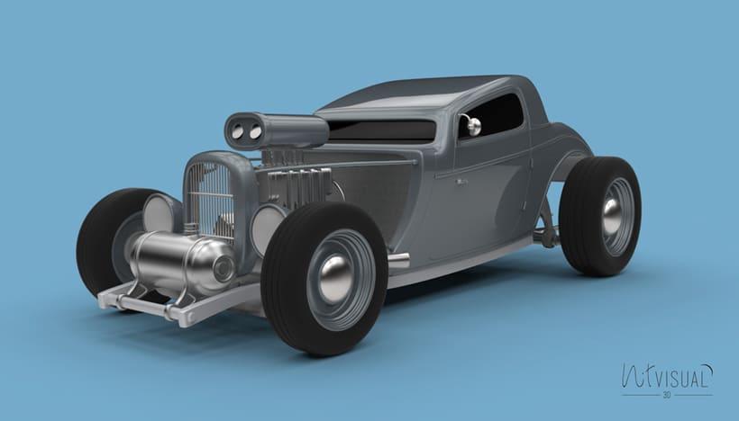 Hot Rod 3D 3