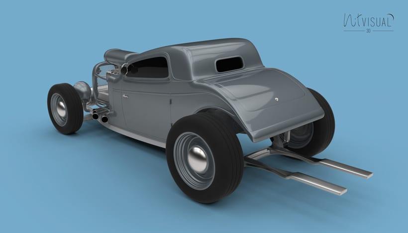 Hot Rod 3D 4