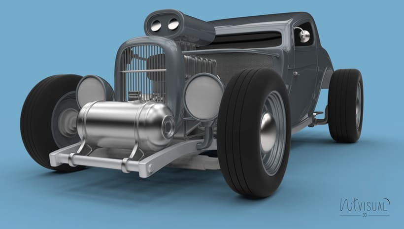 Hot Rod 3D 6