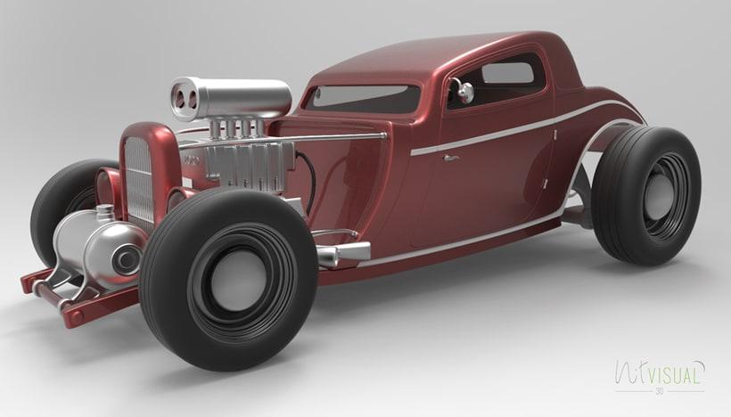 Hot Rod 3D 7
