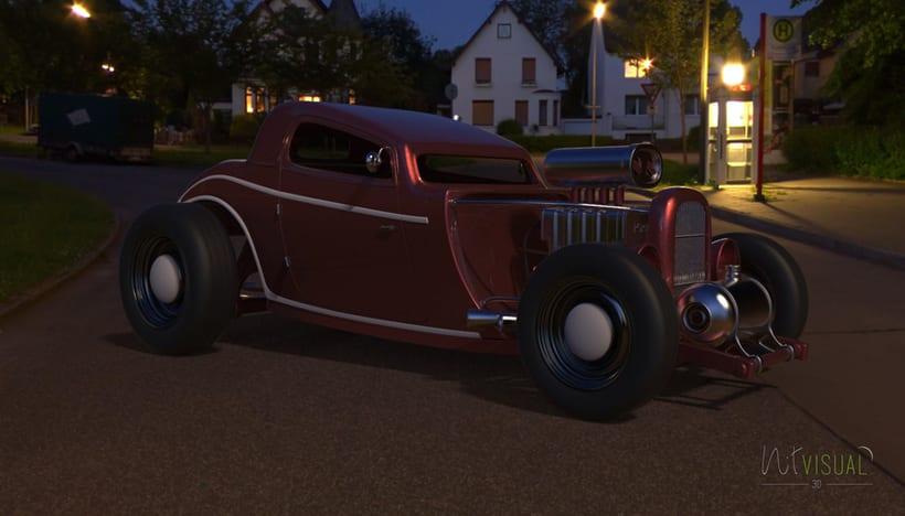 Hot Rod 3D 8