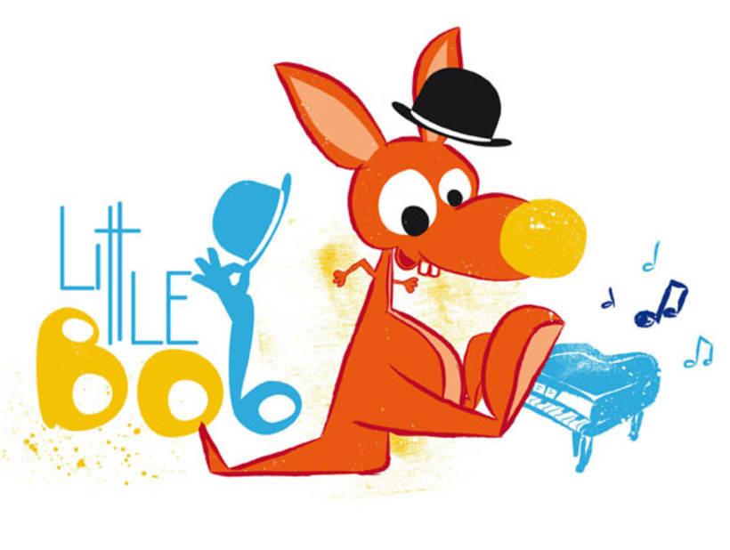 Ilustraciones para línea de servicios de BeFriends, academia de inglés, dirigida a niños de 0 a 3 años 2