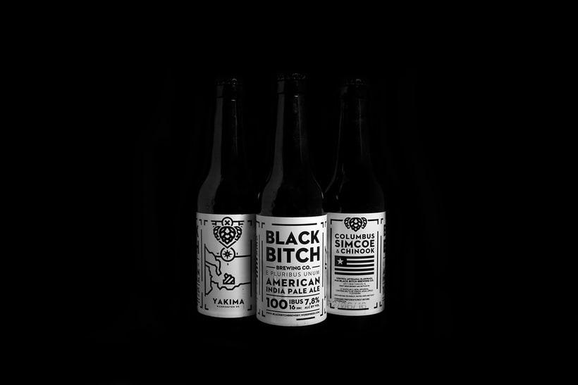 Black Bitch. Brewing Co 7