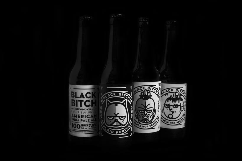Black Bitch. Brewing Co 14