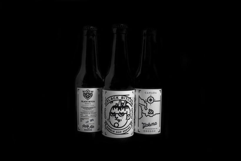 Black Bitch. Brewing Co 9