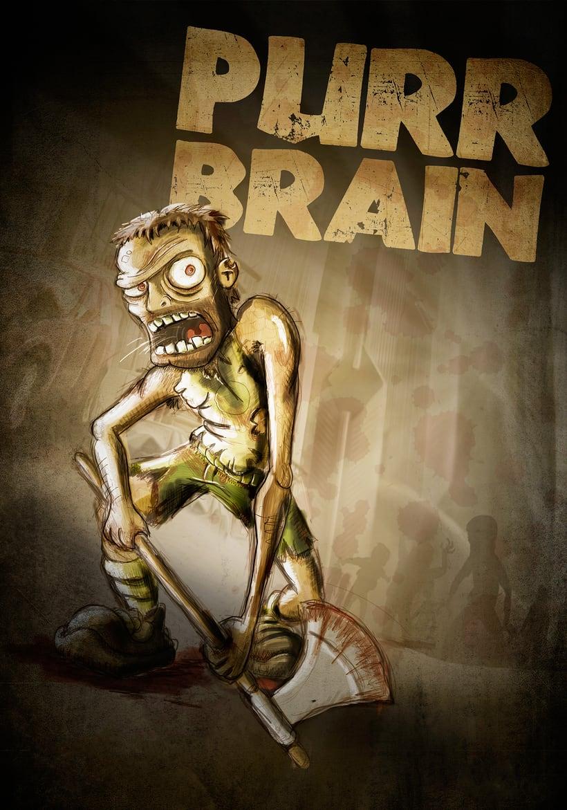 Ilustración - Purr Brain 0