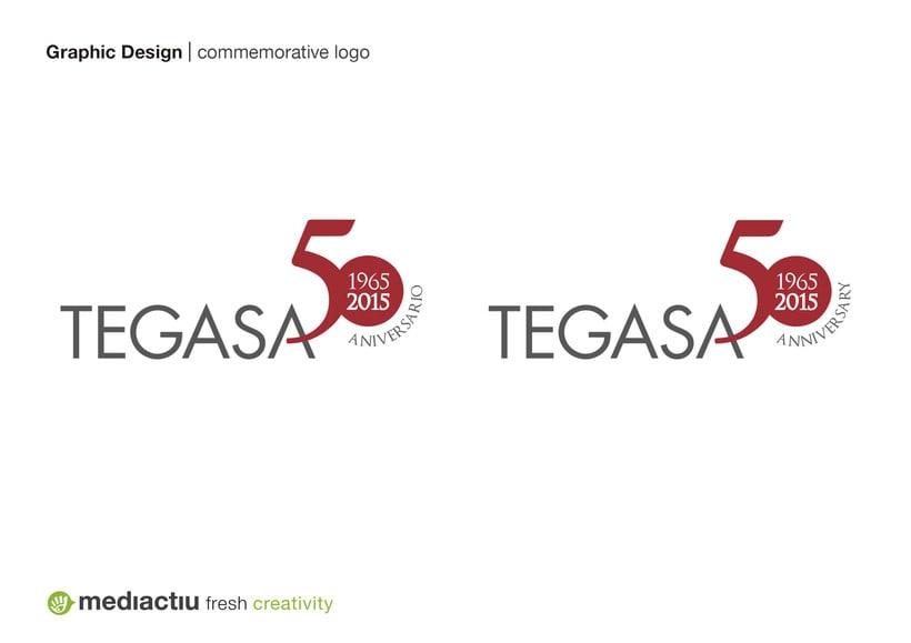Rediseño conmemorativo para el 50 aniversario de Tegasa 0
