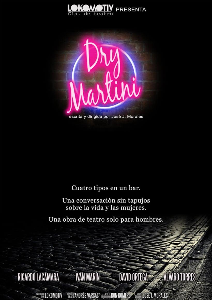 Dry Martini - obra de teatro 2