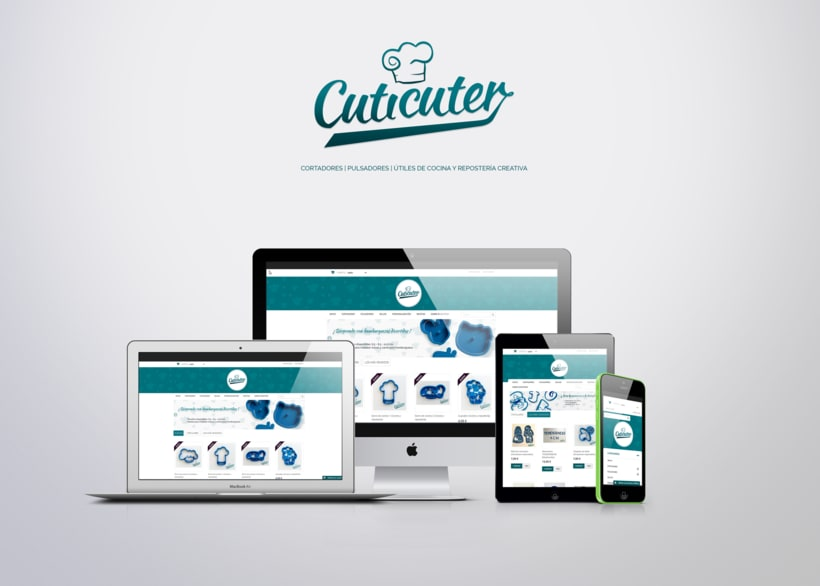 Cuticuter - Diseño web - E-commerce 2