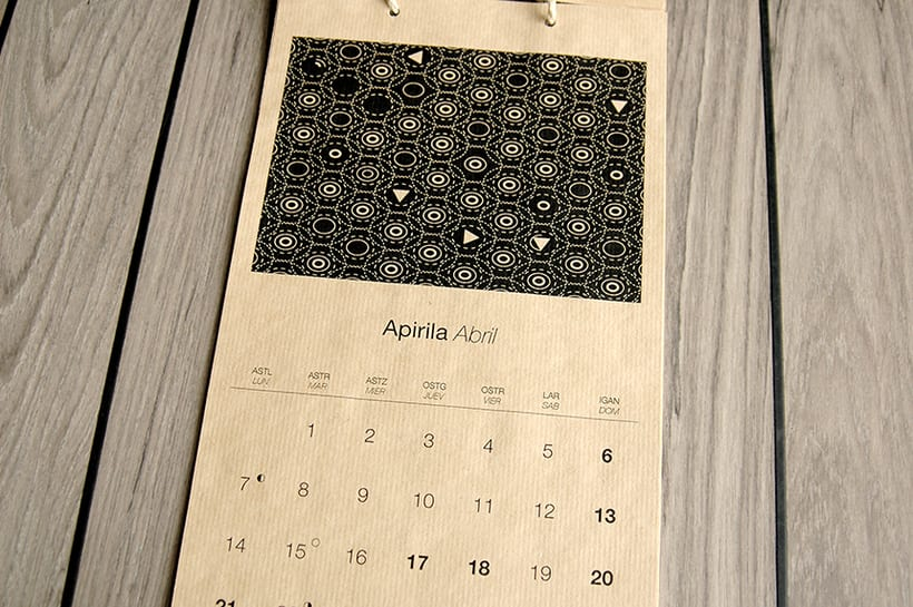 Calendarios Zergatik 5